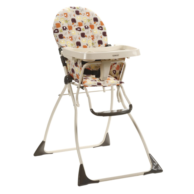 Cosco Cosco Flat Fold High Chair Fruity Jungle by OJ merce ALK $