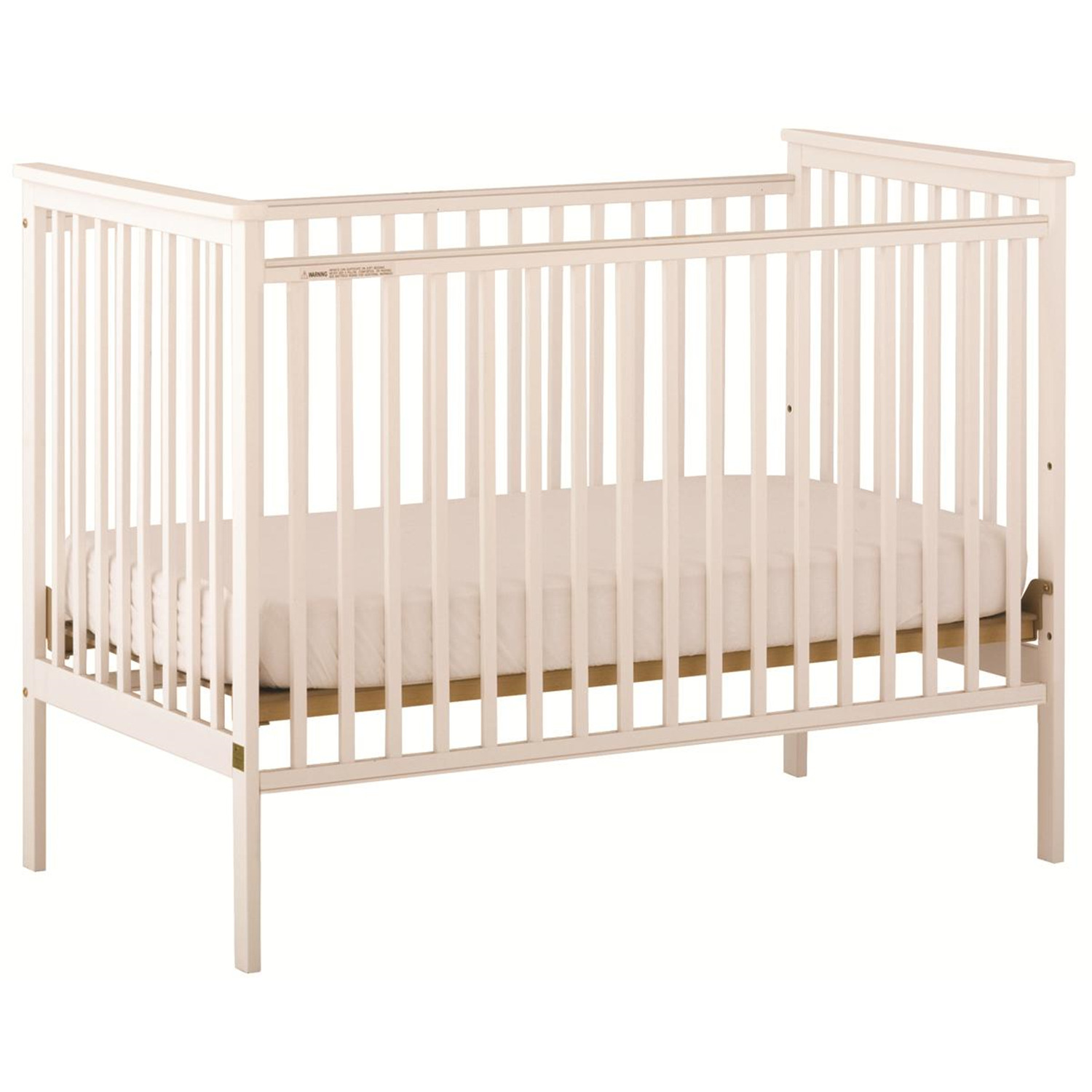 storkcraft stork craft libby fixed side crib white by oj