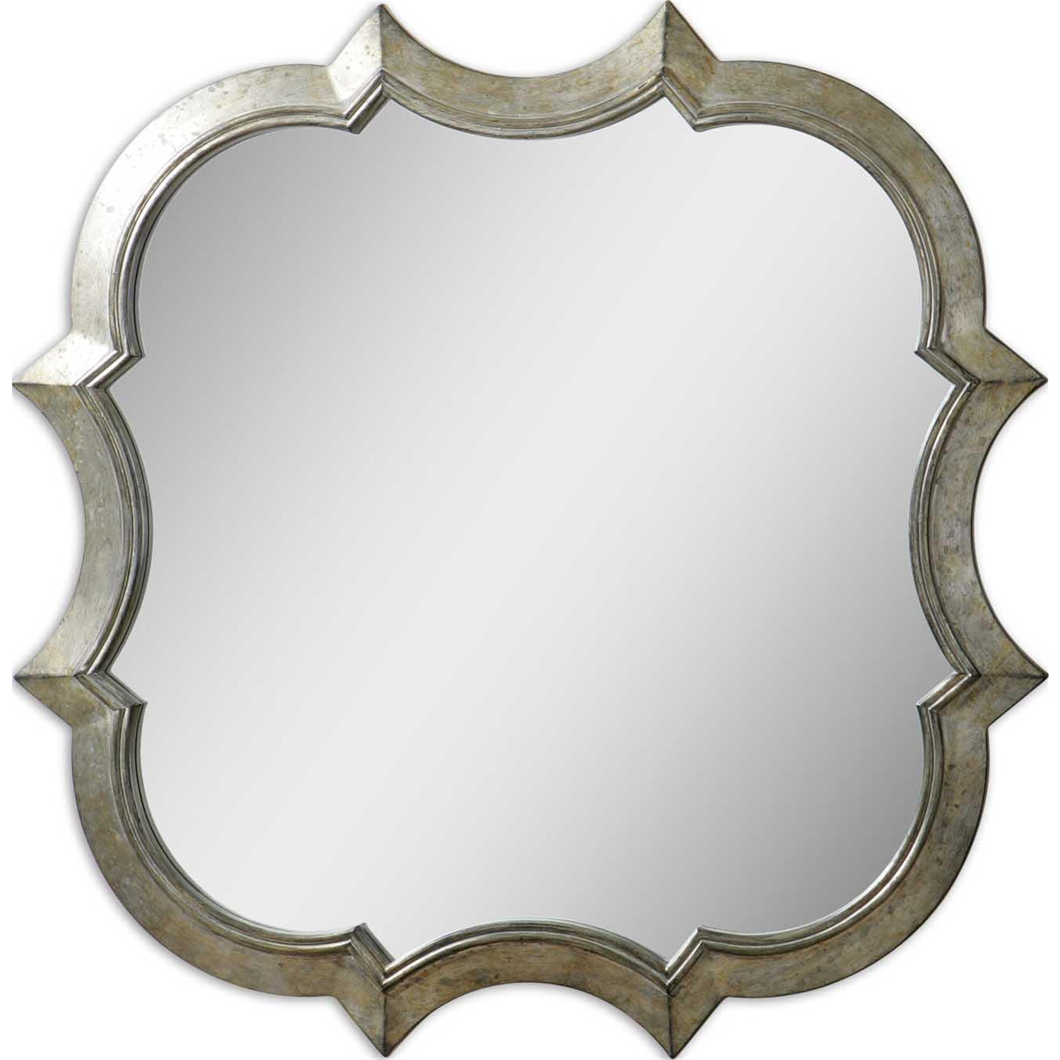 uttermost uttermost farista antique silver mirror by oj
