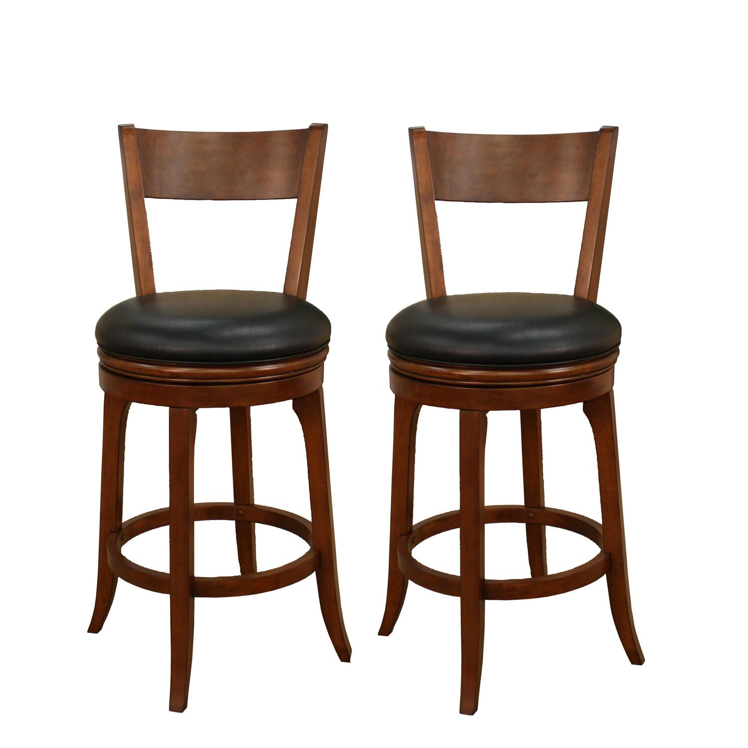 Superb img of  Heritage Billiards Autumn Bar Stool by OJ Commerce $458.21 $993.04 with #3F2214 color and 3000x3000 pixels