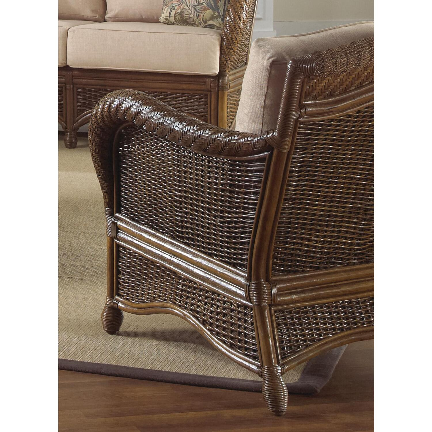 Hospitality Rattan Rattan & Wicker Lounge Chair With