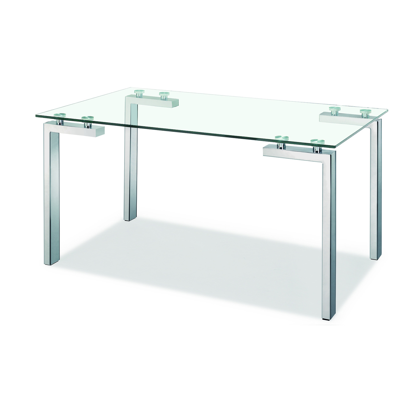 Zuo Modern Roca Dining Table Stainless Steel By OJ
