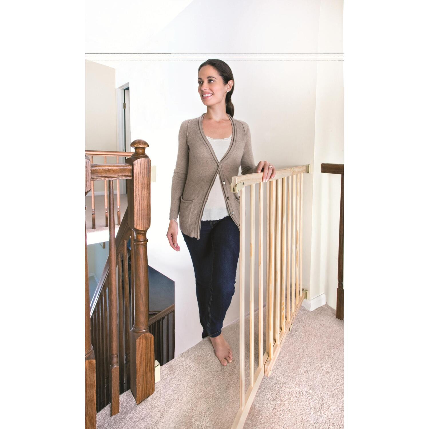 Evenflo Top Of Stair Plus Gate Extra Tall By Oj Commerce