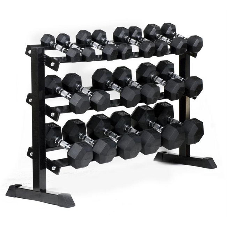 Weight Rack Walmart: J Fit Horizontal Dumbbell Rack By OJ Commerce 10-0300