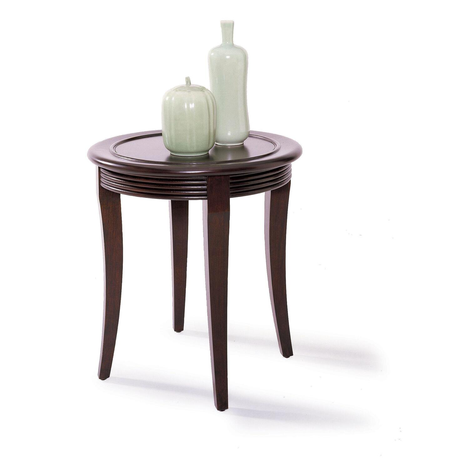 Lane urbana round end table by oj commerce 11754 09 for Table urbana but