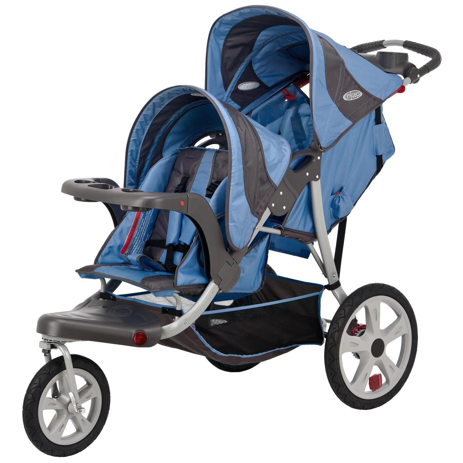 Schwinn Safari Double Tandem Stroller by OJ Commerce 11 ...