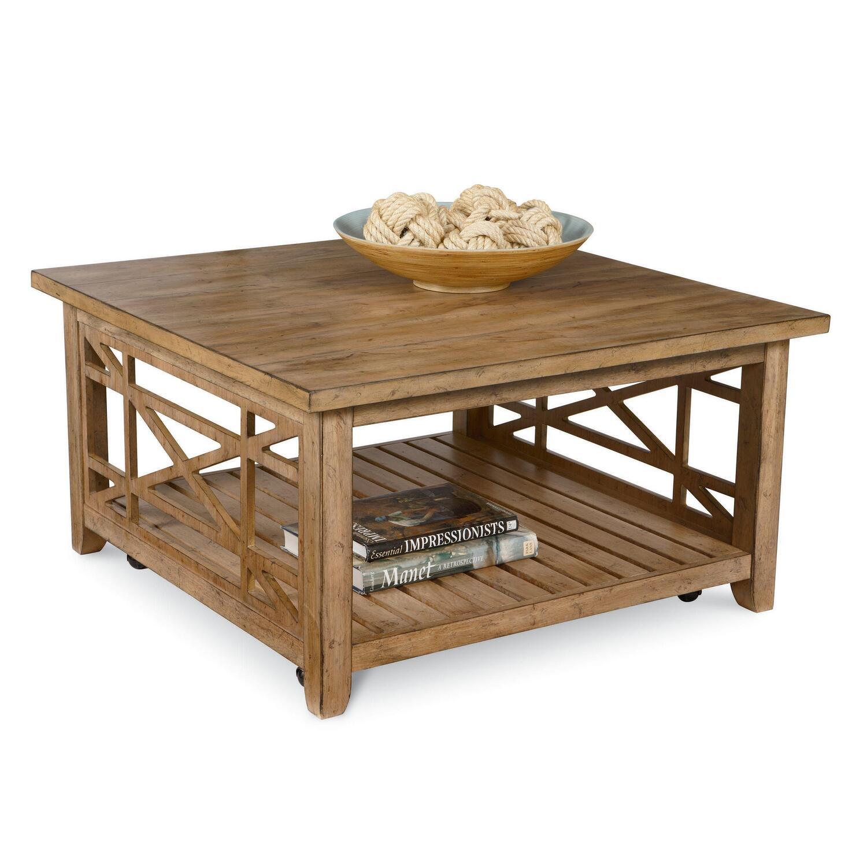 Lane frasier square cocktail table by oj commerce 12026 05 for Frasier coffee table