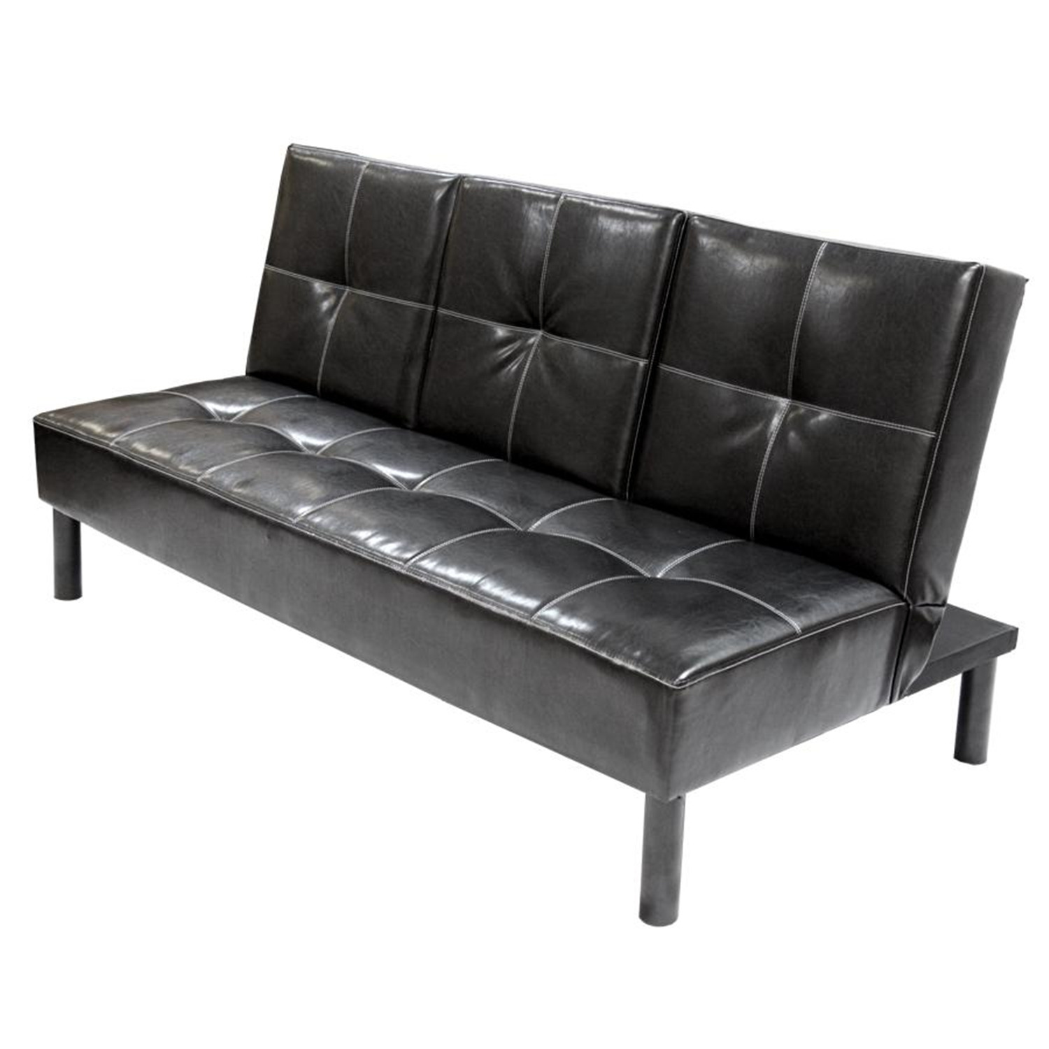 Home Source Clack Sofa w Center Drop Down Tray