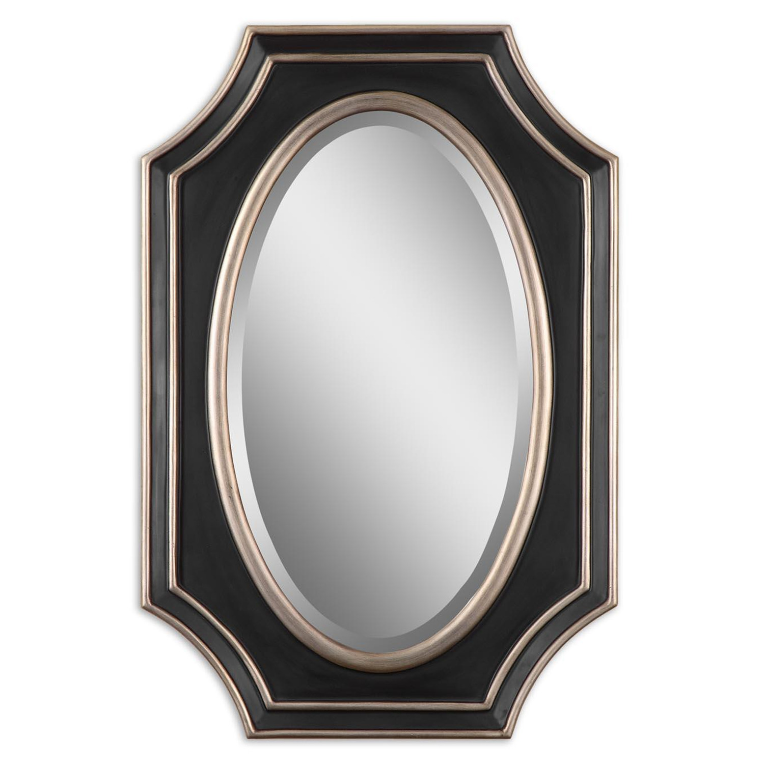 Uttermost shapely decorative wall mirror by oj commerce for Decorative mirrors