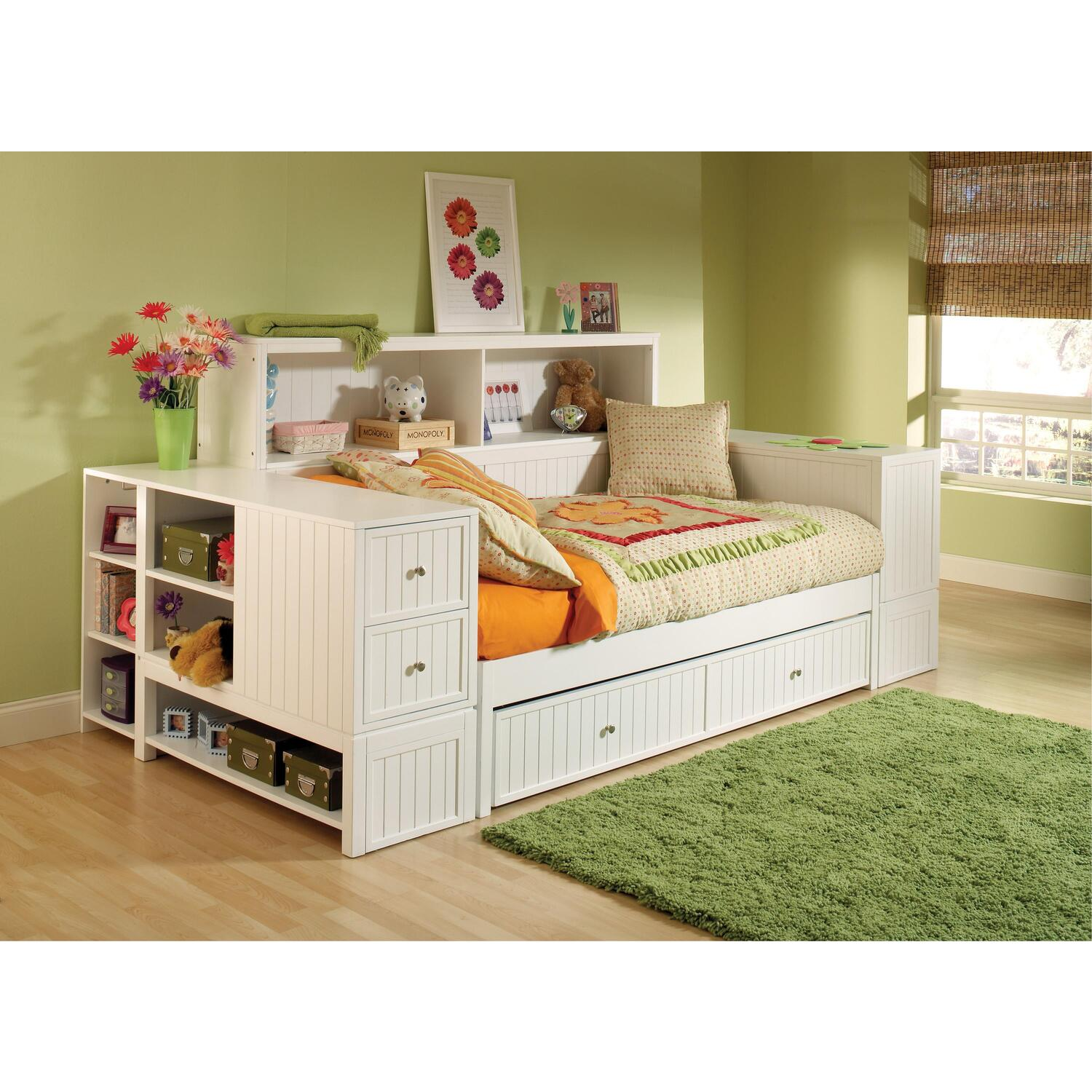 Hillsdale Furniture Cody Youth Bedroom Bookcase Daybed Unit By Oj Commerce 1604dbtbd 2 580 99