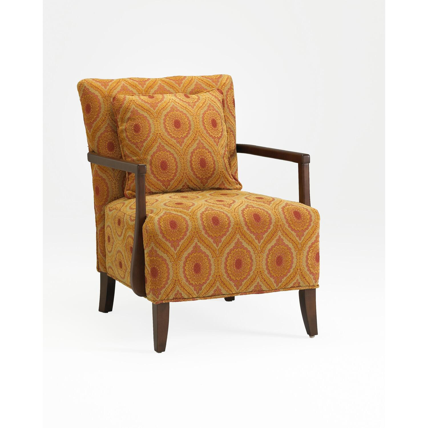 fort Pointe Dante Vintage Accent Chair by OJ merce