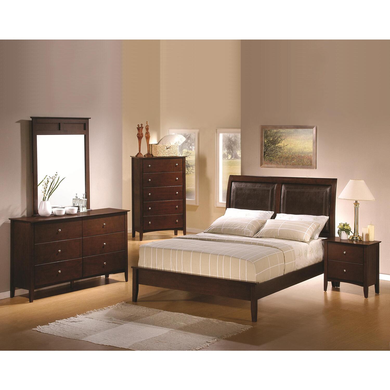 hollywood home tamara 5 piece bedroom set by oj commerce