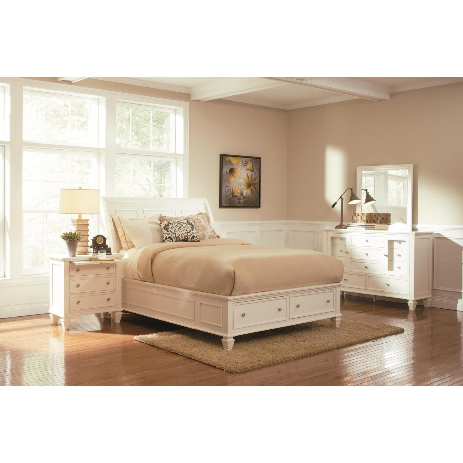 hollywood home sandy beach 4 piece bedroom set by oj commerce 3