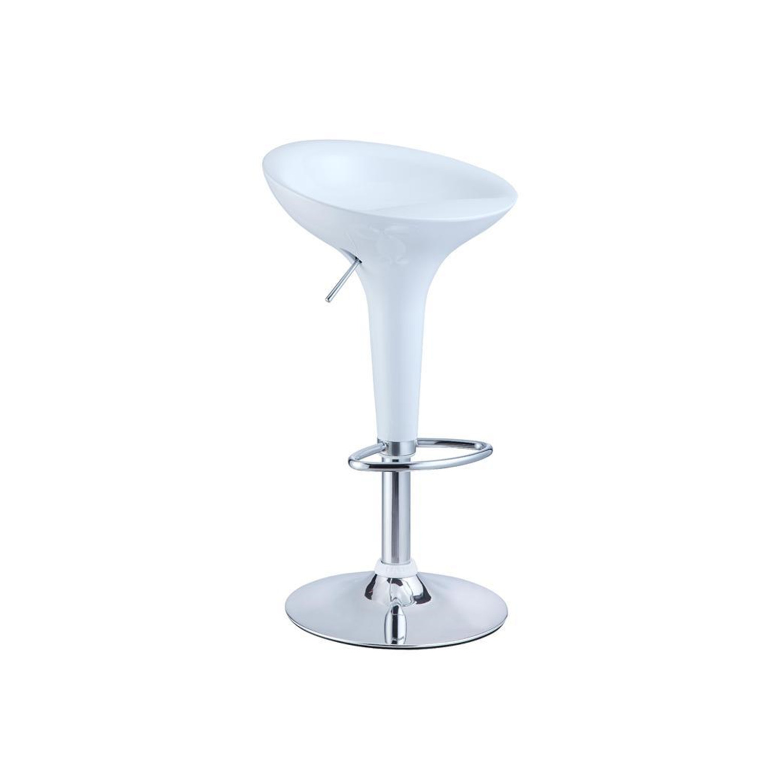 Powell Low Back Adjustable Height Bar Stool By Oj Commerce