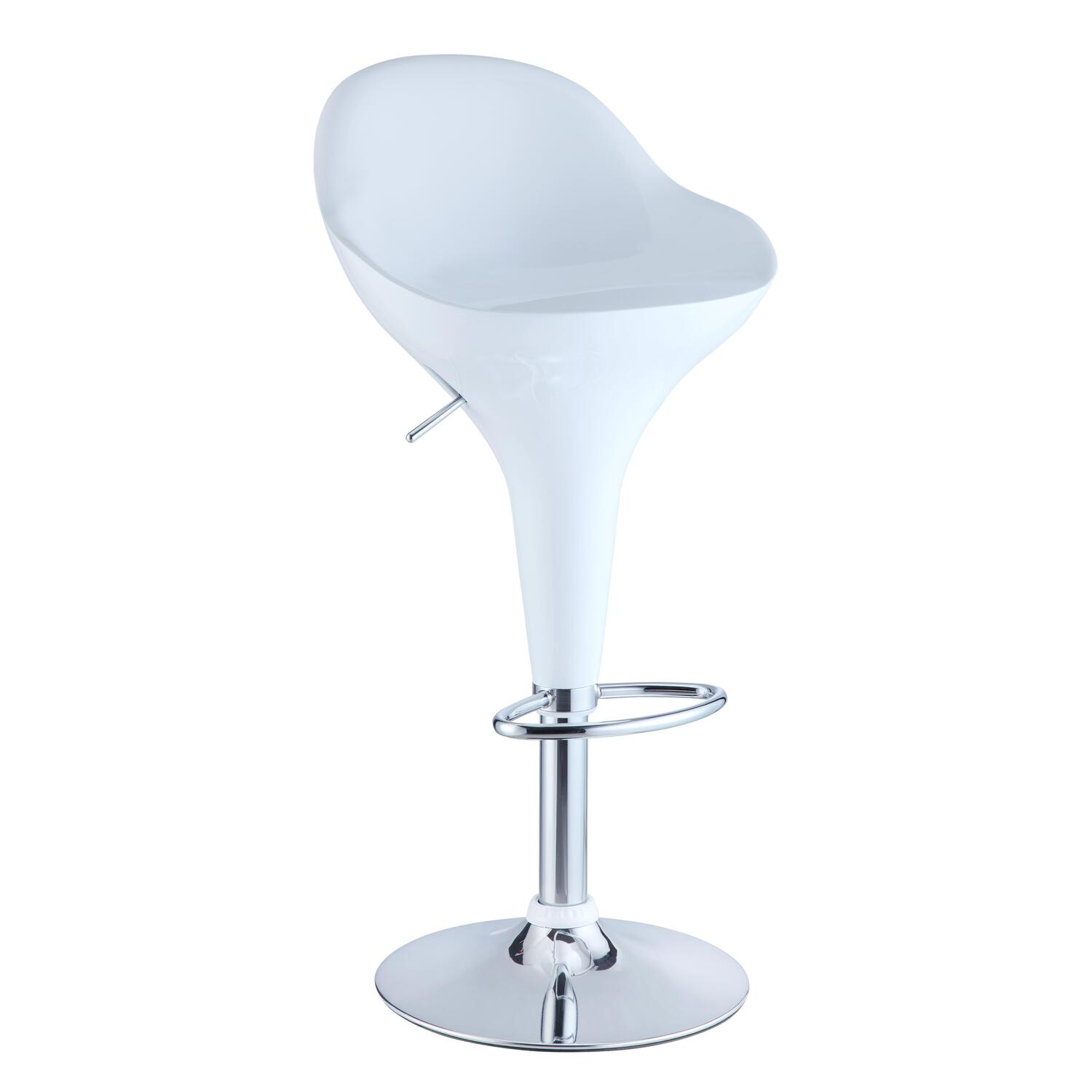 Powell Retro Adjustable Height Bar Stool By Oj Commerce