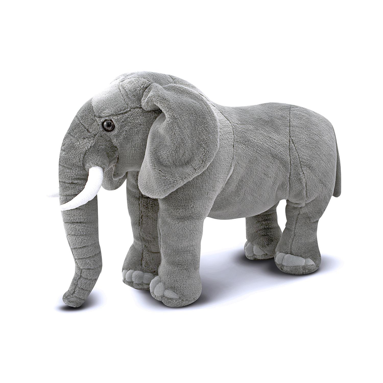 Elephant Stuffed Toy : Melissa doug elephant plush by oj commerce a