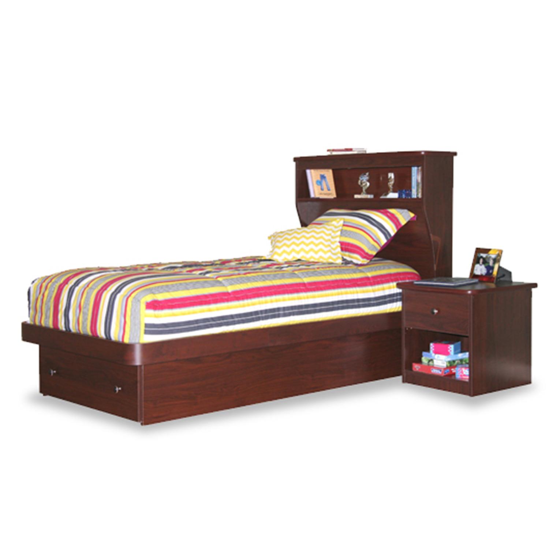 Berg Furniture Twin Platform Bed With Storage Drawer