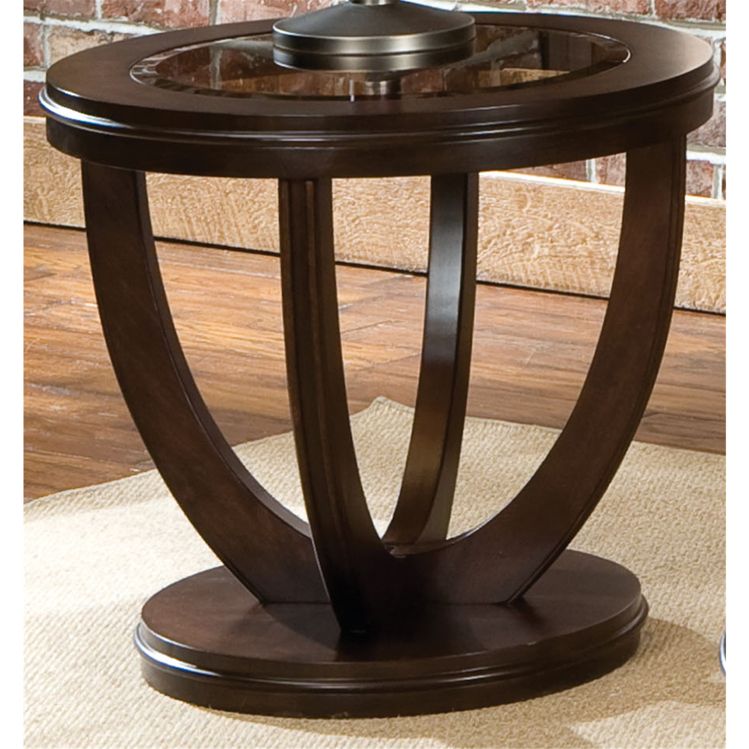 Standard furniture la jolla end round table by oj commerce for Round table 99