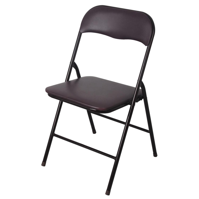Home Source Metal Folding Chair with Foam Seat by OJ merce $31 99