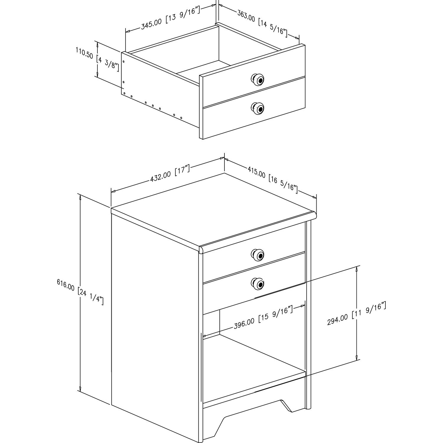 Night Stand Height Gallery For Gt Night Stand Dimensions