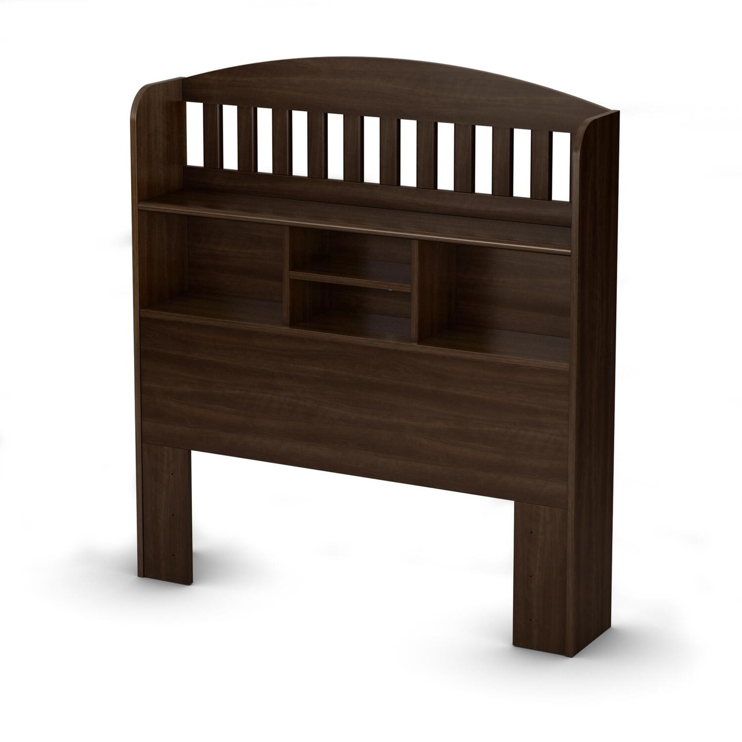 "South Shore Newton Twin Bookcase Headboard (39"") by OJ Commerce $134.99"