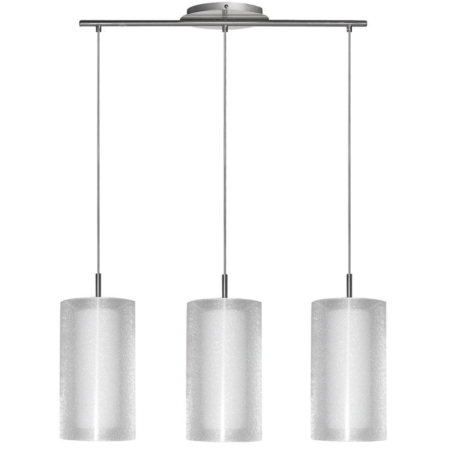 Dainolite Three Light Pendant Fixture With Cylindrical