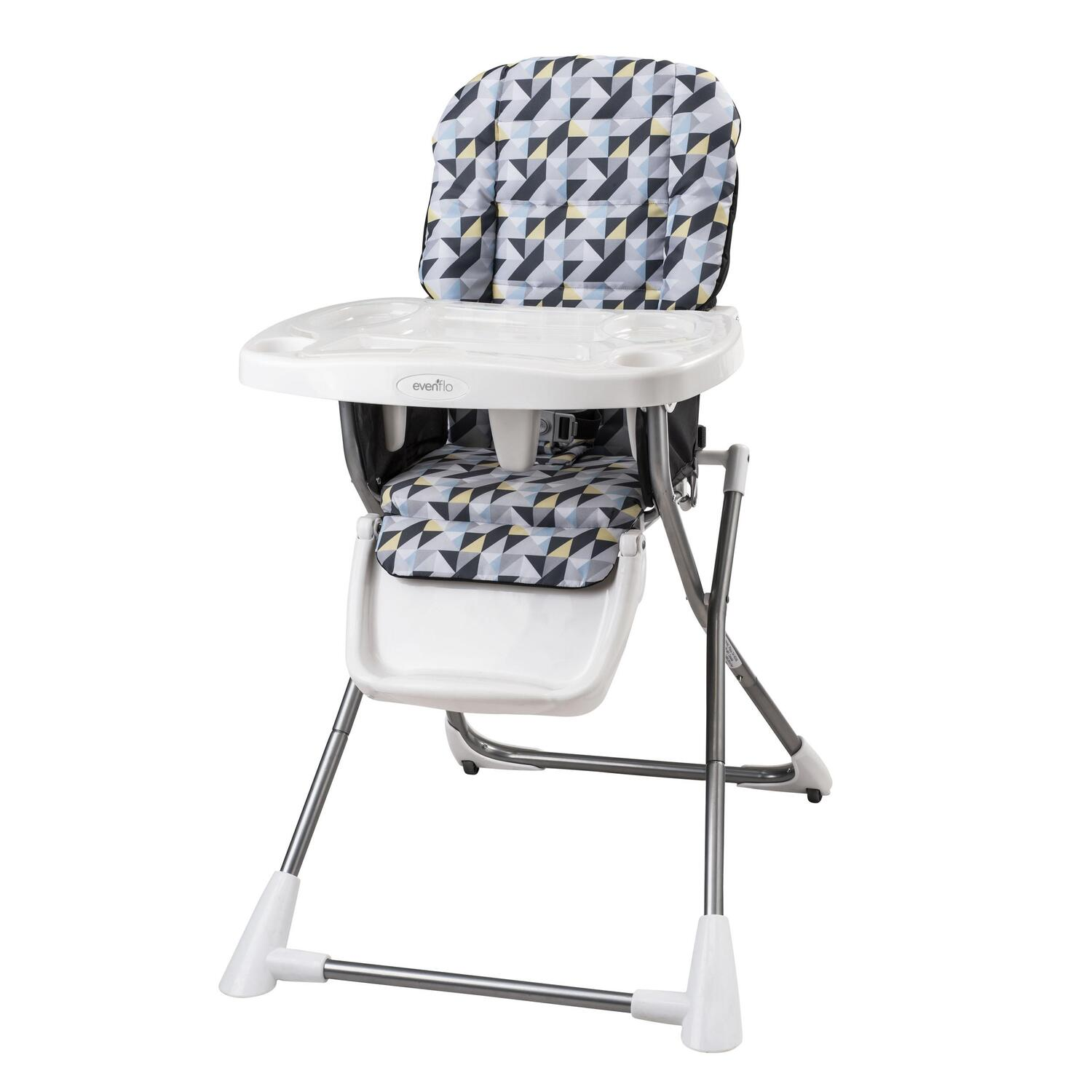 Evenflo compact fold high chair by oj commerce for Chaise haute graco