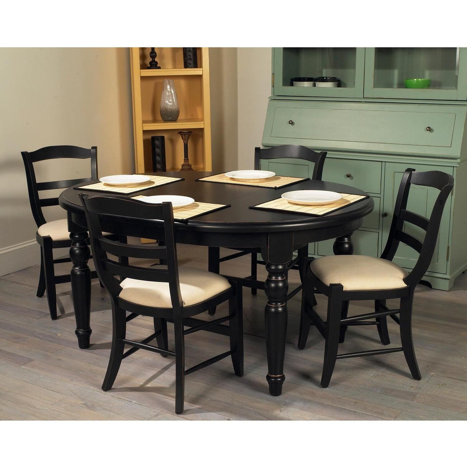 Oval Kitchen Table And Chairs: Dining Table: Dress Oval Dining Table