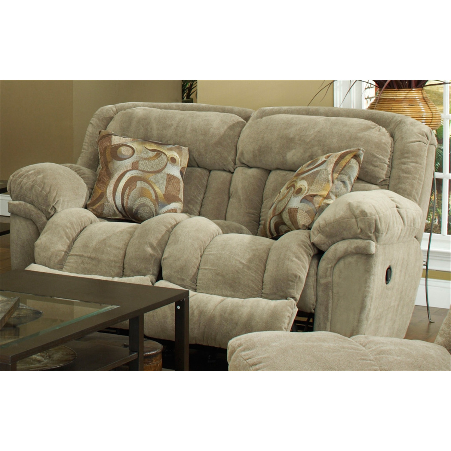 Catnapper Tundra Rocking Reclining Loveseat By Oj Commerce