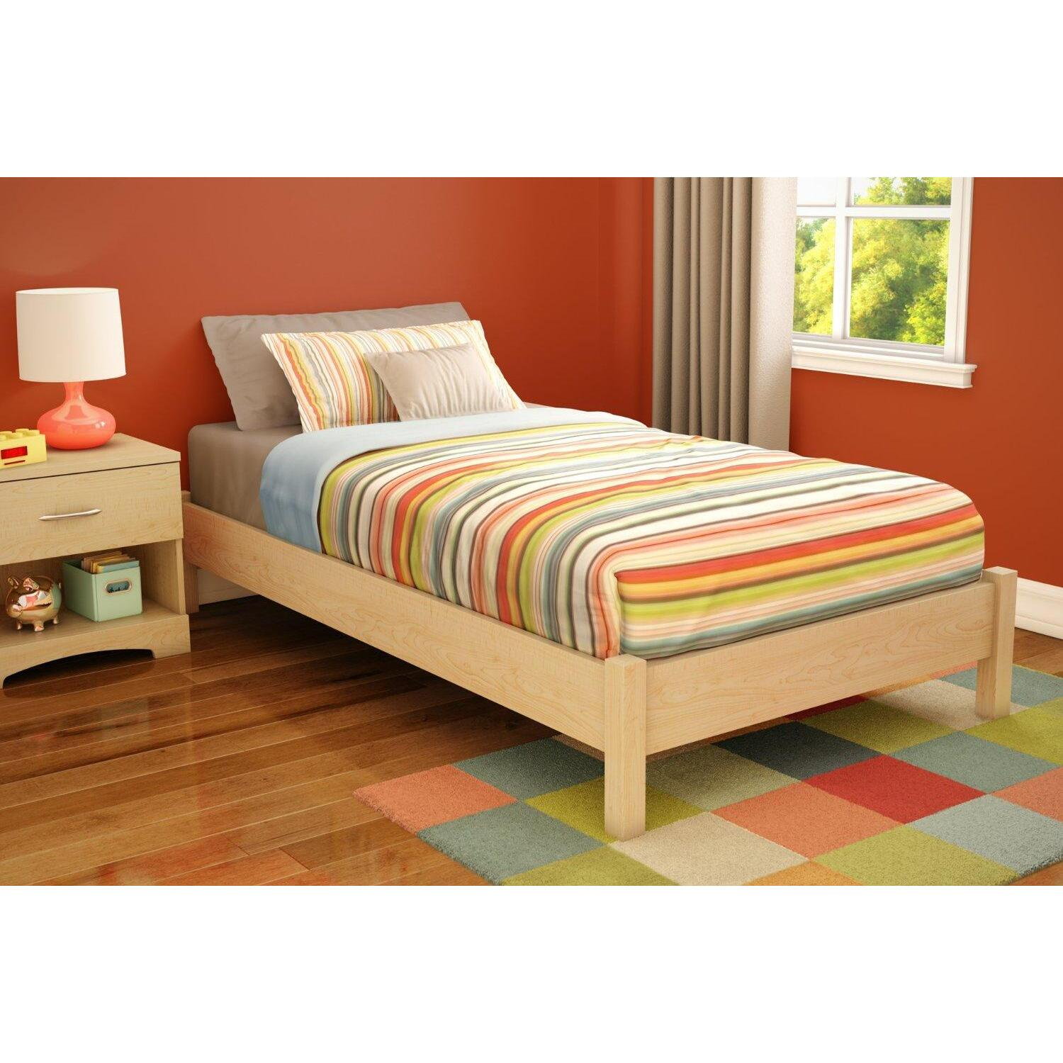 "South Shore Twin Platform Bed (39"") by OJ Commerce 3013205 - $149.99"