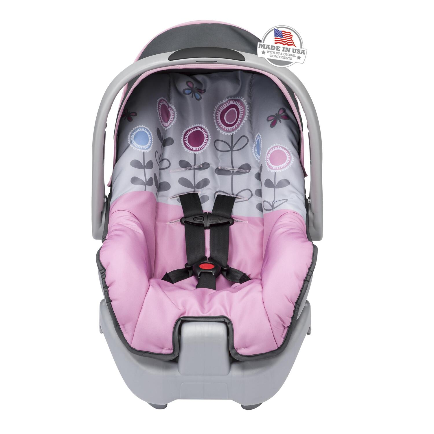 evenflo nurture infant car seat by oj commerce. Black Bedroom Furniture Sets. Home Design Ideas