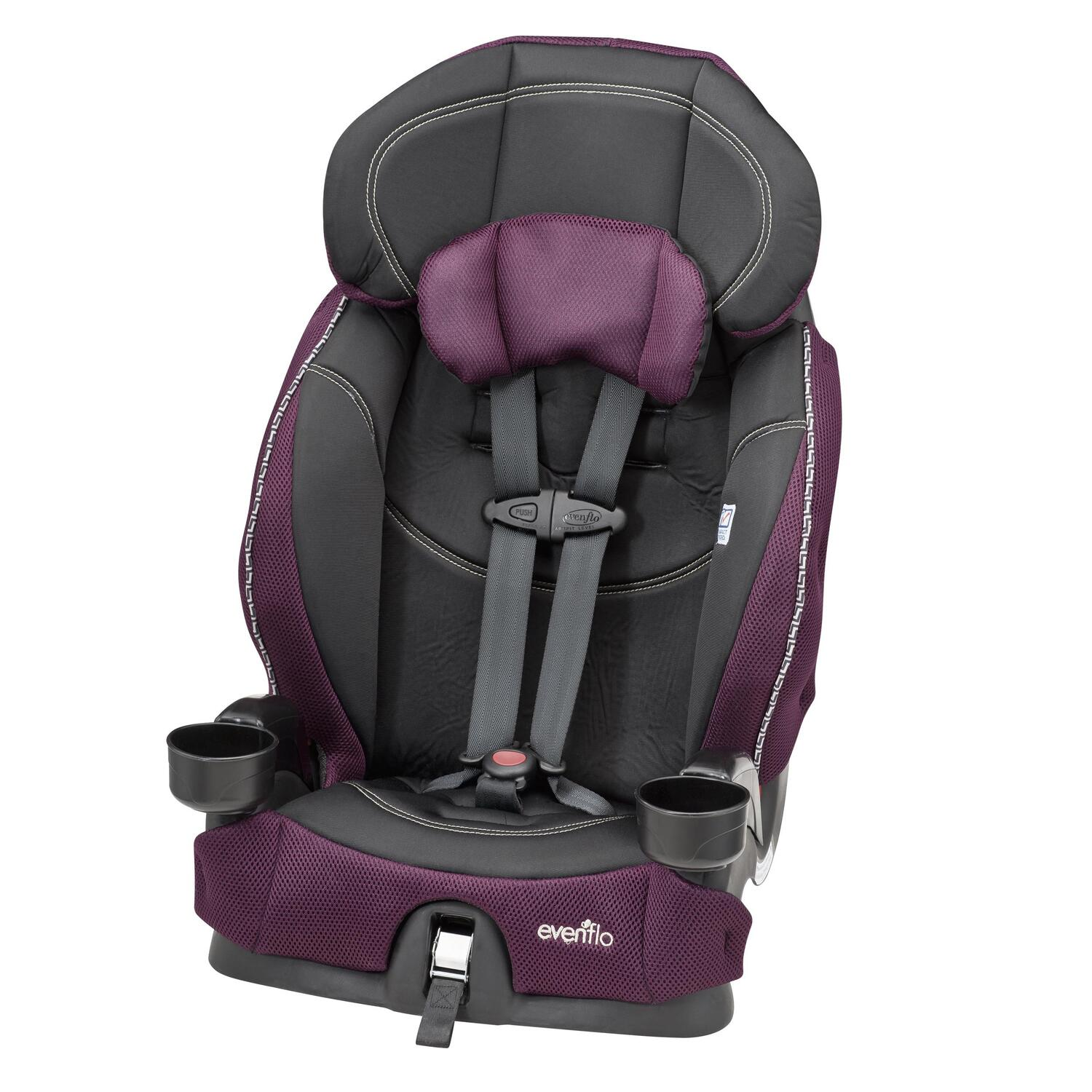 evenflo chase lx harness booster car seat by oj commerce. Black Bedroom Furniture Sets. Home Design Ideas