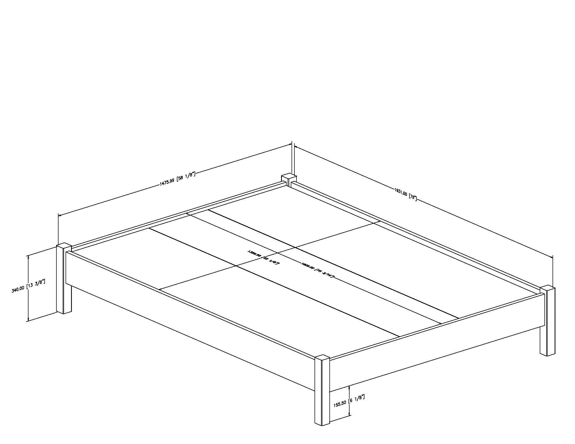 south shore step one full platform bed 54 in pure black. Black Bedroom Furniture Sets. Home Design Ideas