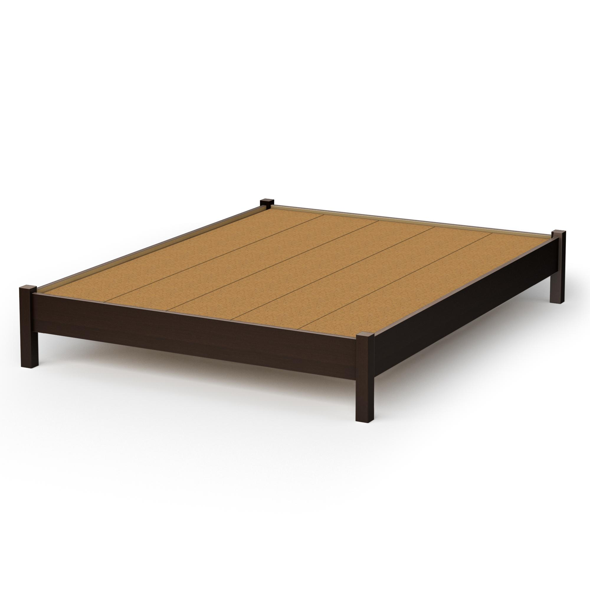 Make queen size platform bed frame quick woodworking for Queen size bed frame