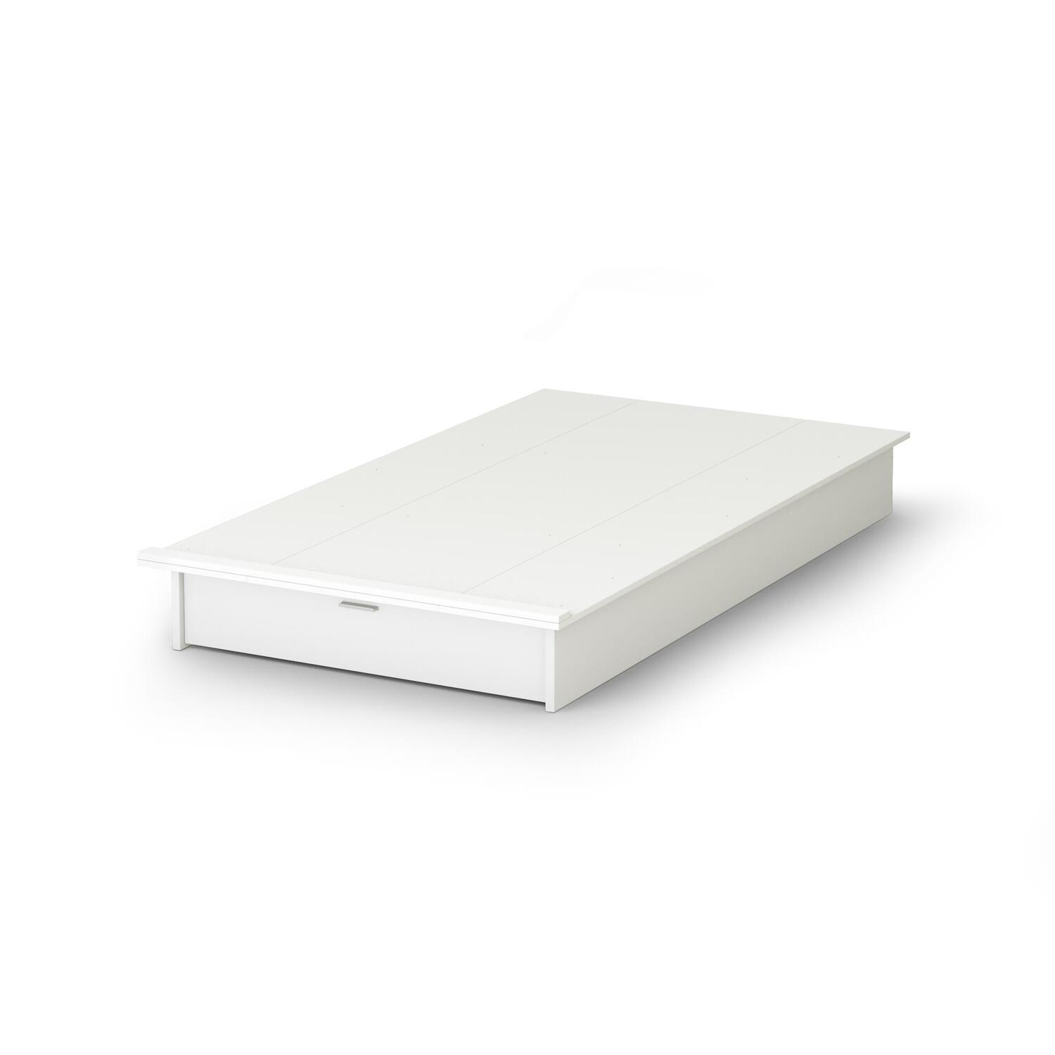 Ikea flaxa headboard reviews for Platform bed with drawers ikea