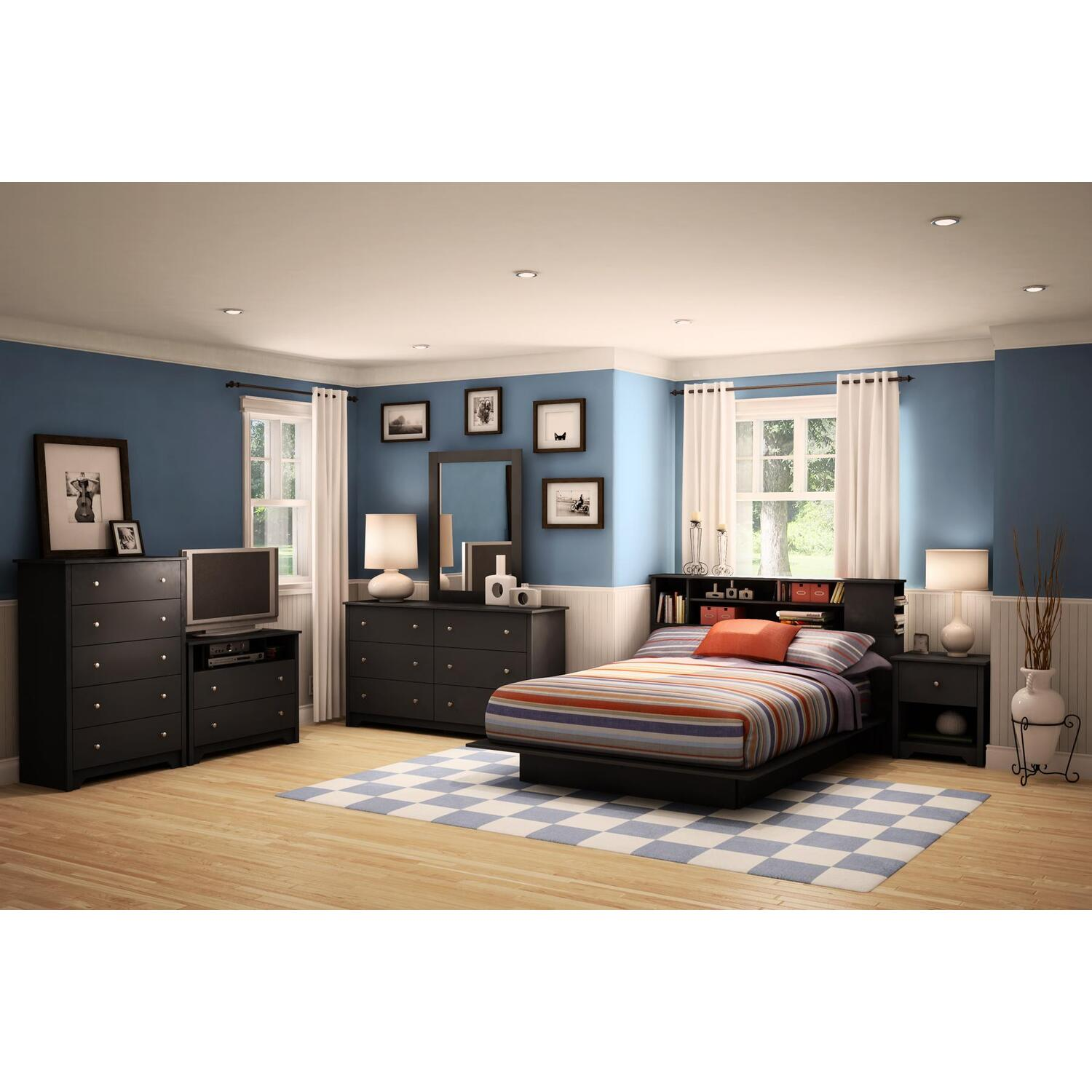 south shore vito queen bed 7 piece bedroom set by oj commerce3170q7pc2