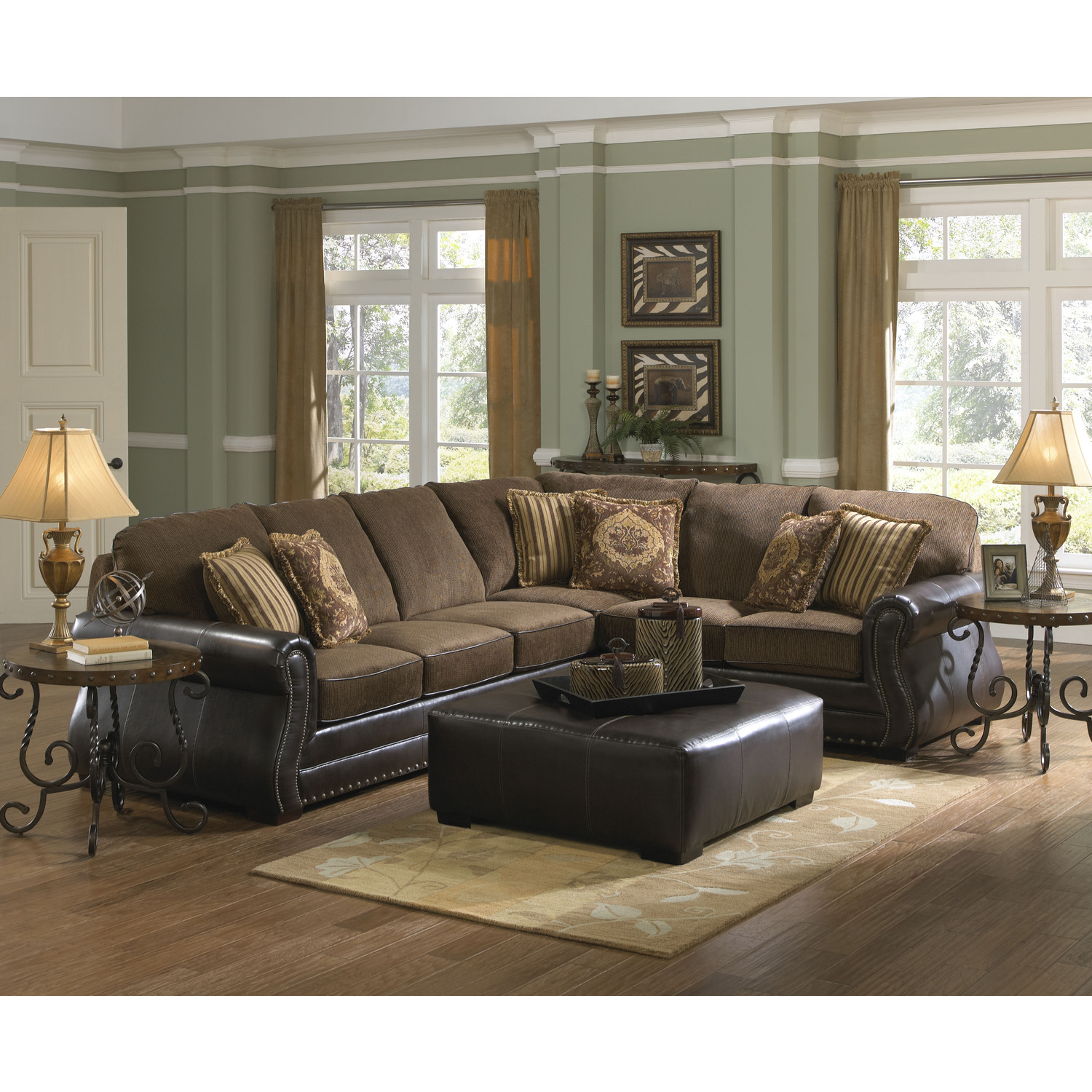 Jackson Furniture Austin Sectional by OJ Commerce 3202-62-72-1226