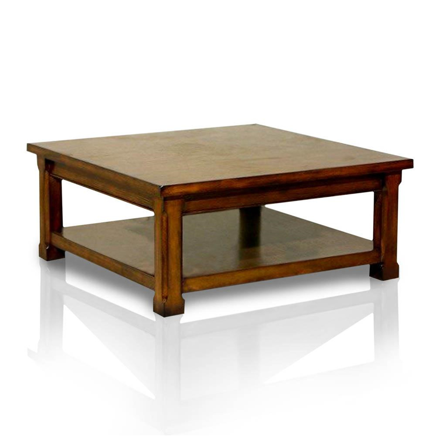 Coe limited square low coffee table by oj commerce Low coffee table square