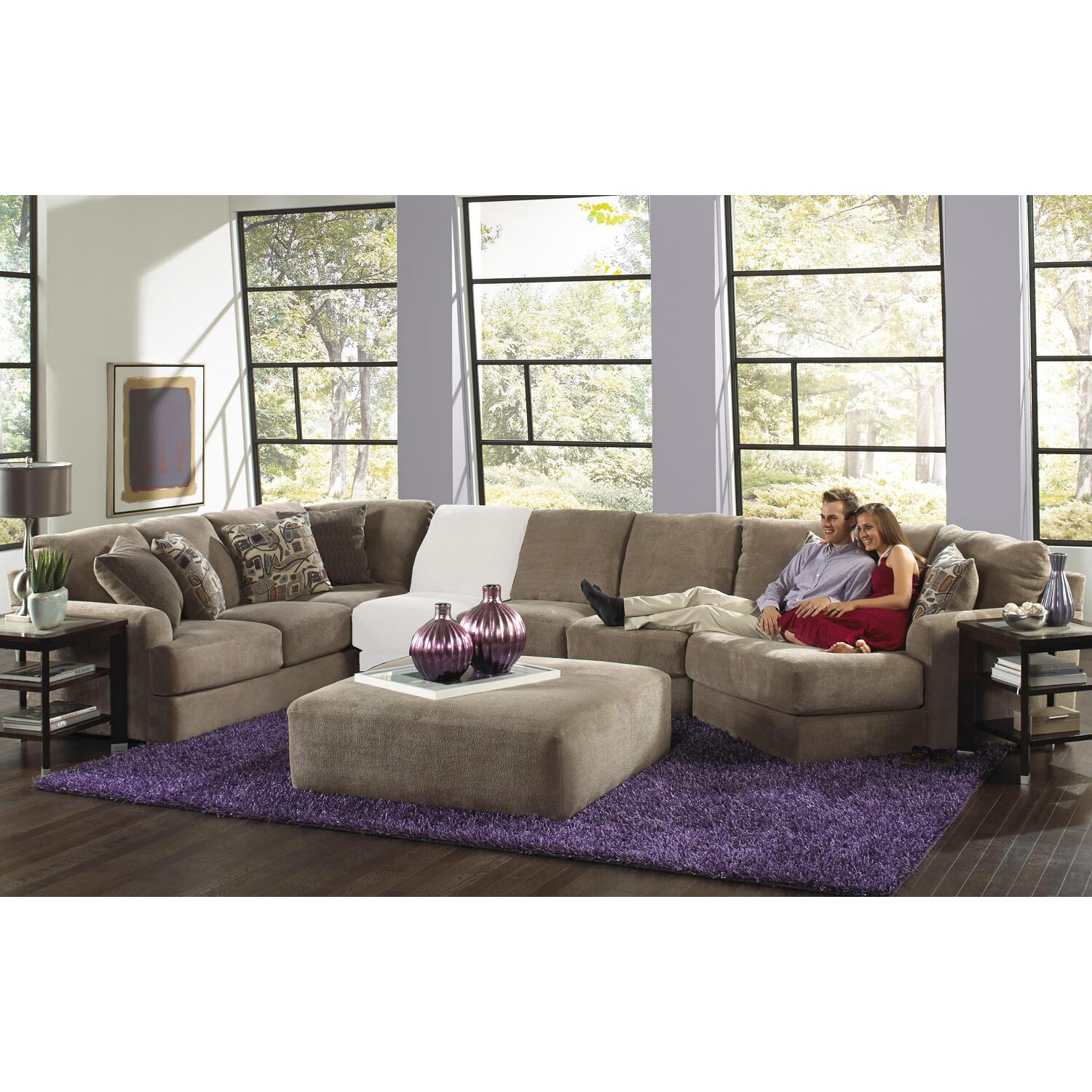 Jackson Furniture Malibu Piano Wedge Sectional With