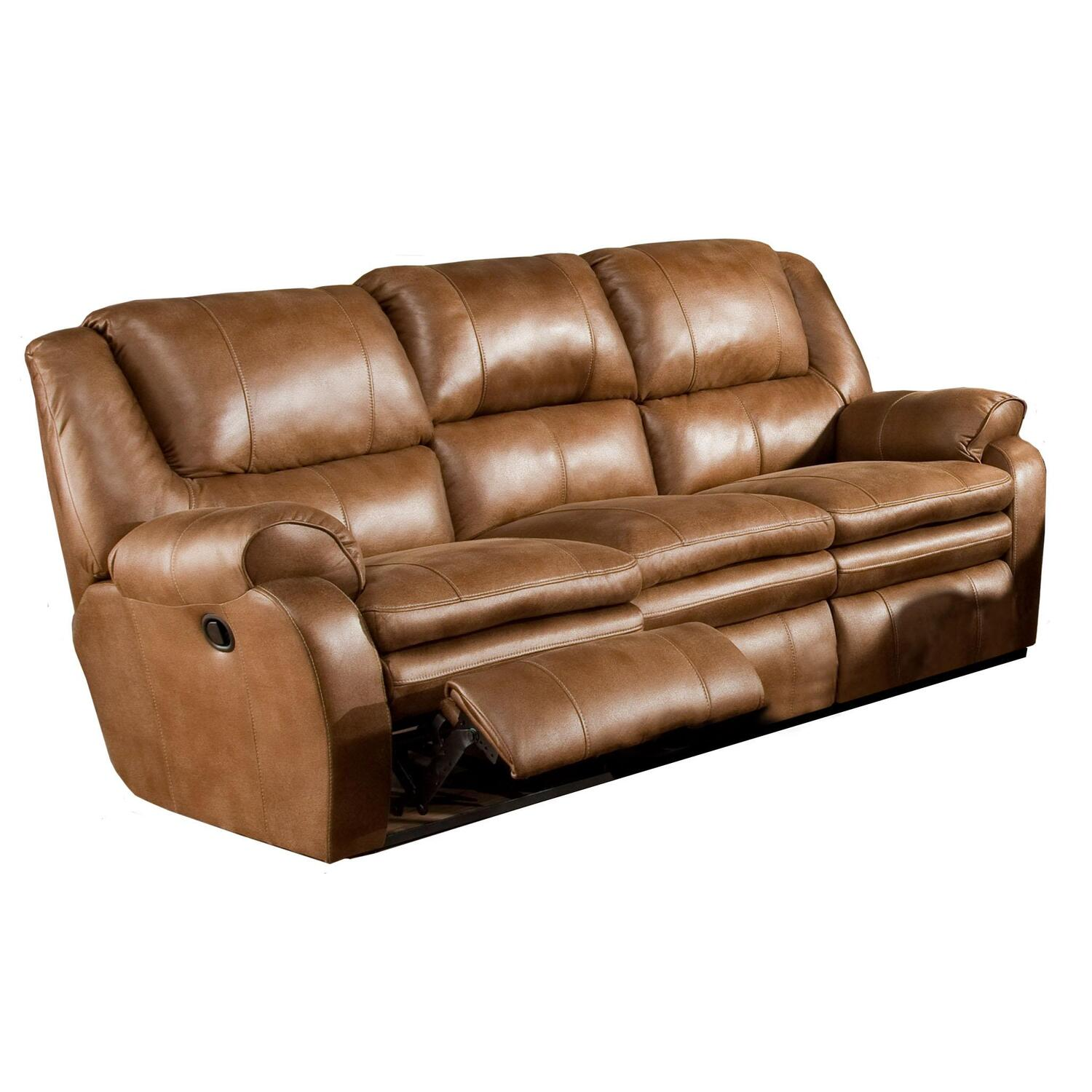 Catnapper Reclining Sofa Reviews Catnapper Siesta Lay Flat Reclining Fabric Sofa In Porcini