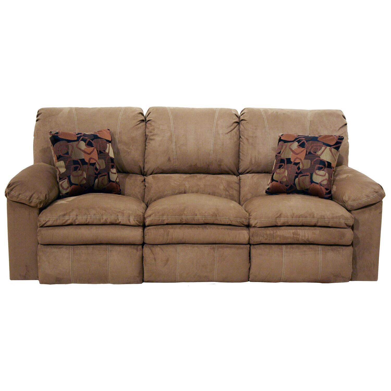 Oversized reclining sofa thompkins oversized dual power for Oversized reclining sectional sofa