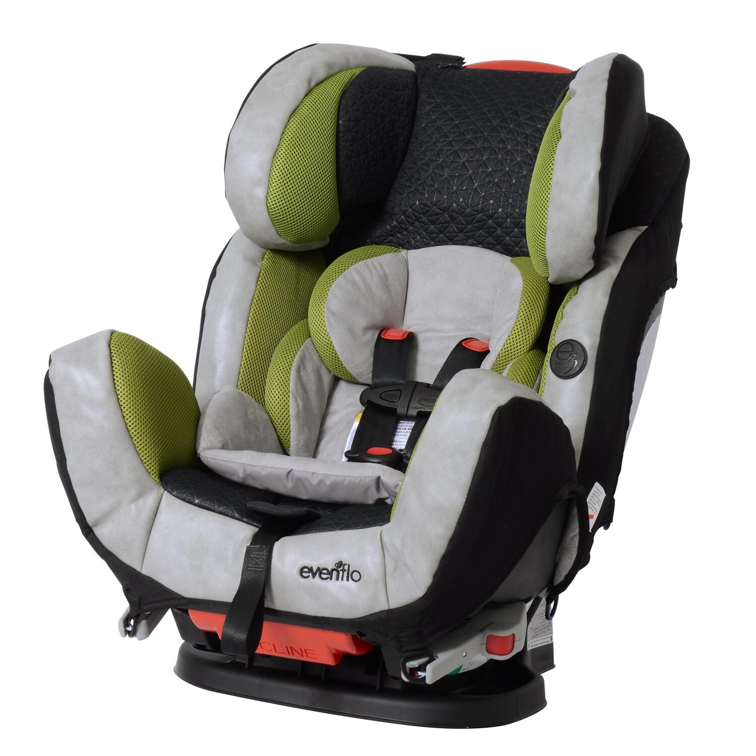 evenflo symphony dlx convertible car seat by oj commerce. Black Bedroom Furniture Sets. Home Design Ideas