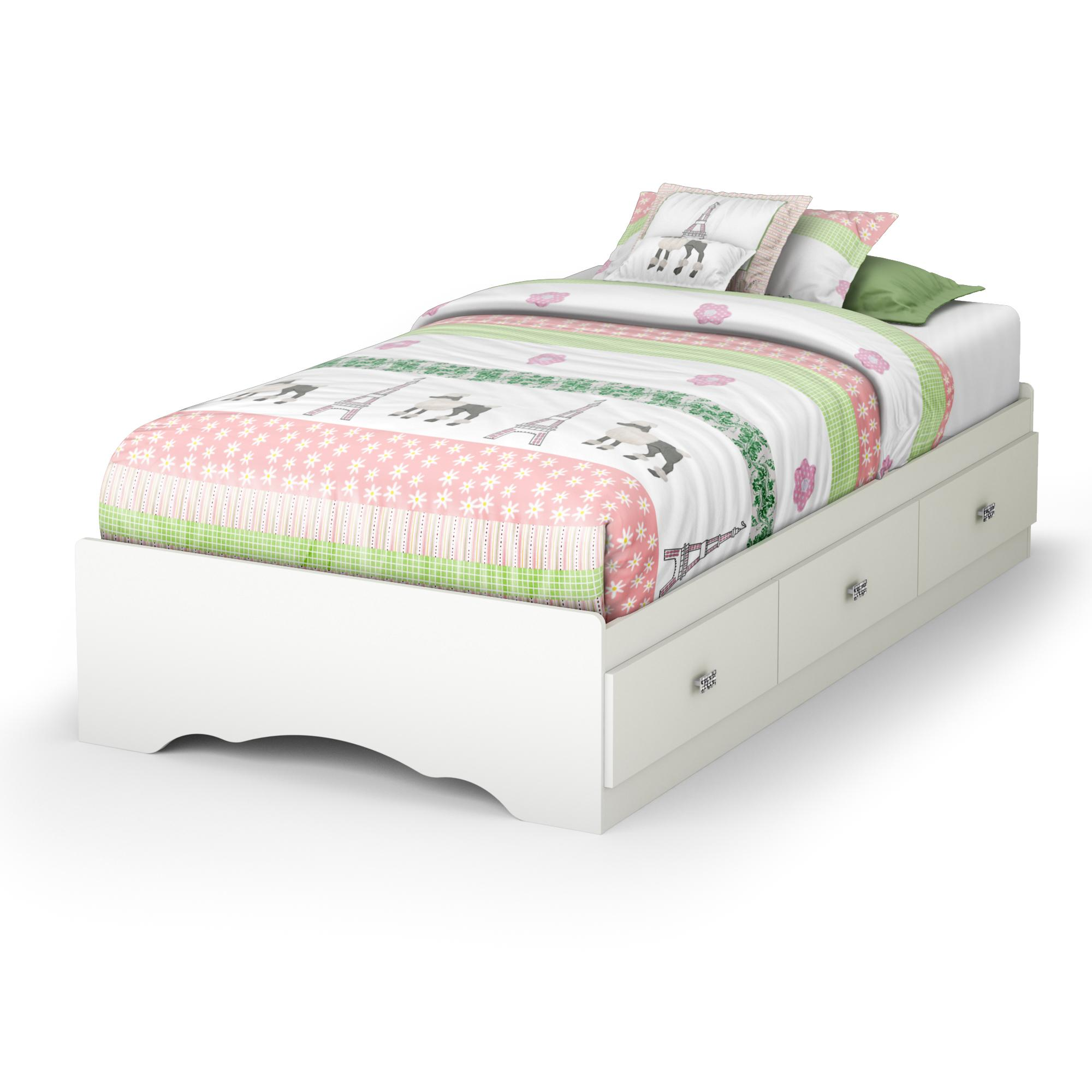 South Shore Tiara Twin Mates Bed 39 By Oj Commerce 3650212