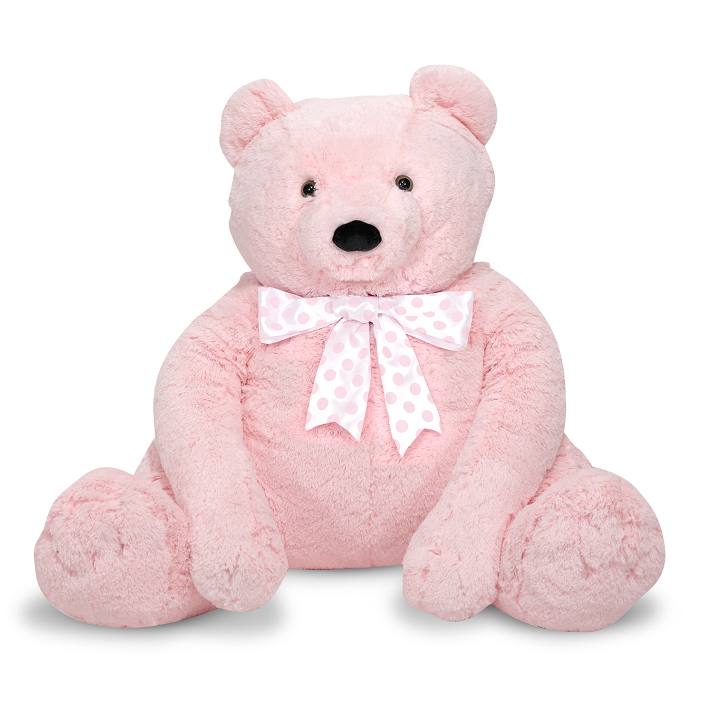 Melissa & Doug ... Giant Pink Teddy Bear