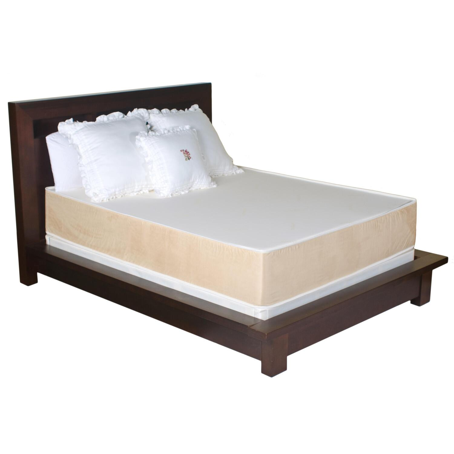 Jeffco 13 In Memory Foam Mattress With Coolmax Ventiliation Technology By Oj Commerce