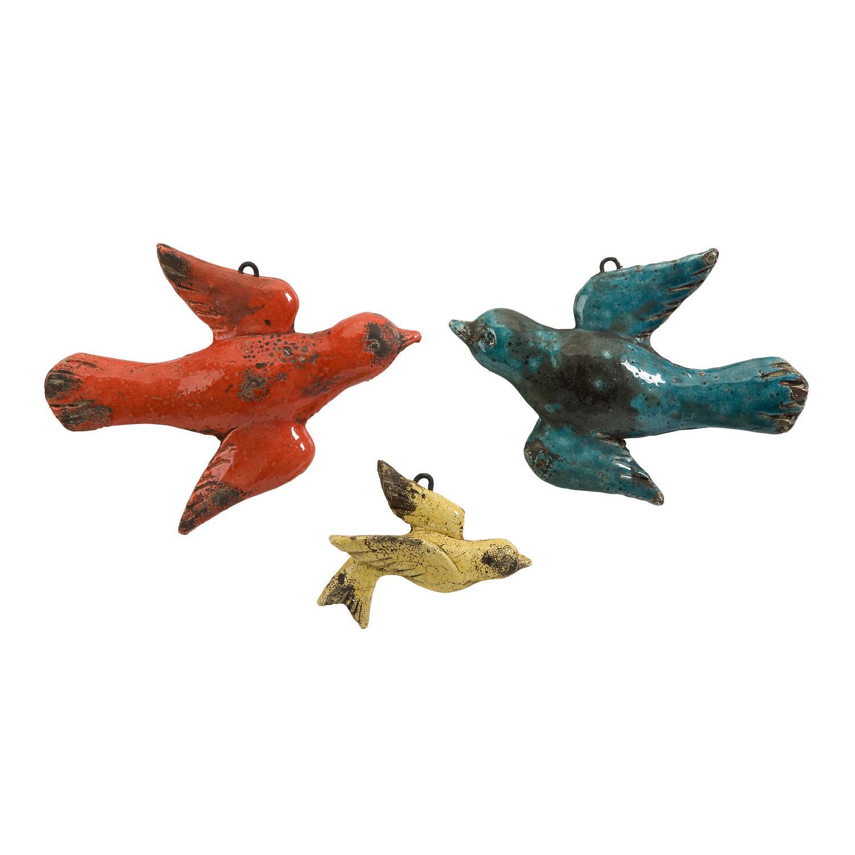 Декор птицы керамика