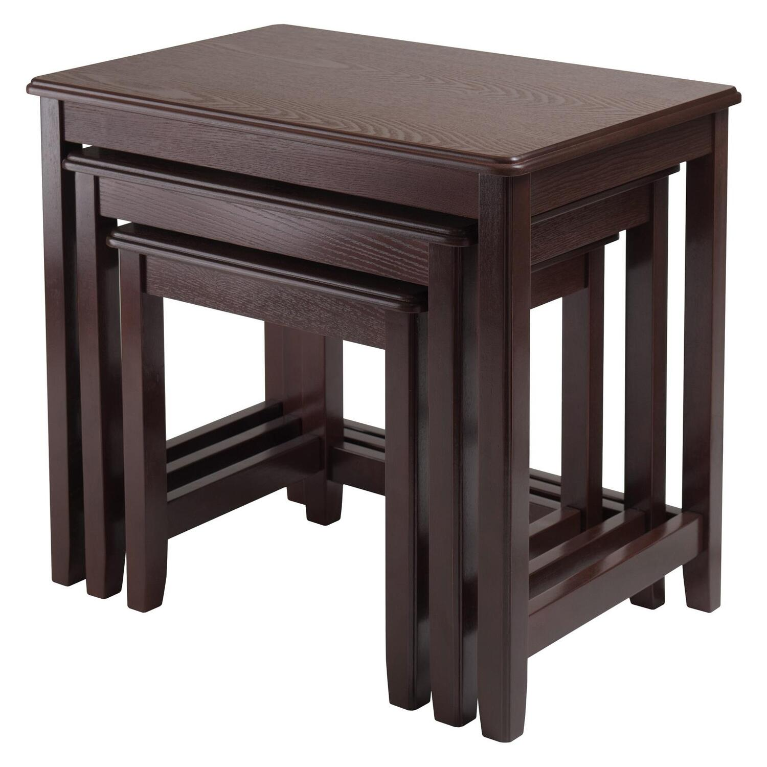 Winsome Trina 3pc Nesting Table By OJ Commerce 40322 14899