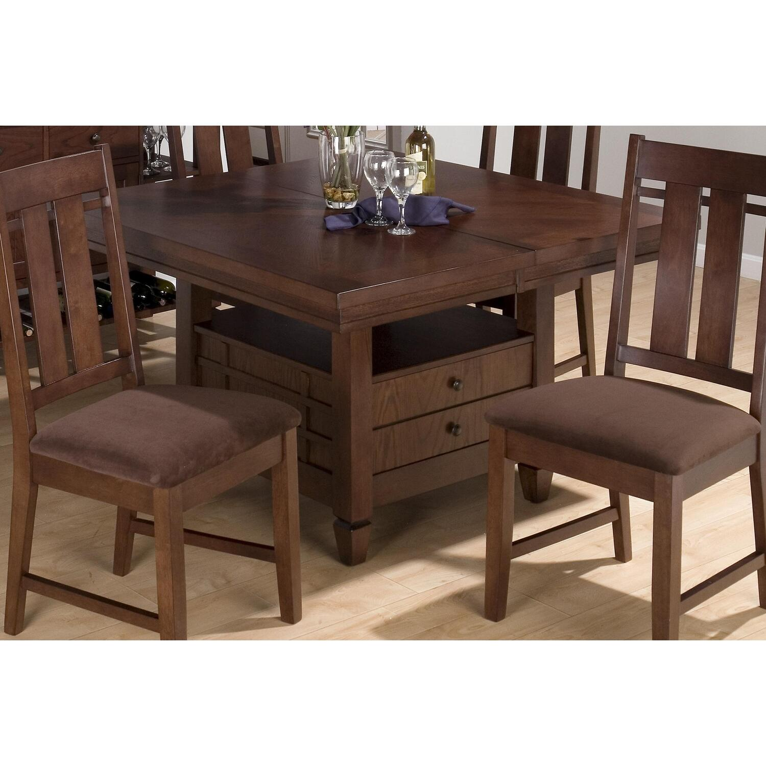 Jofran muir oak finished dining table by oj commerce 403 for 99 dining table
