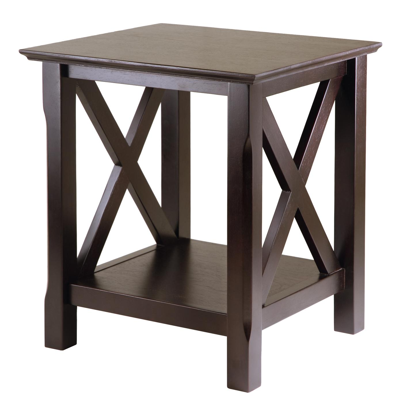 Custom Design Kitchen Winsome Xola End Table By Oj Commerce 40420a 68 25