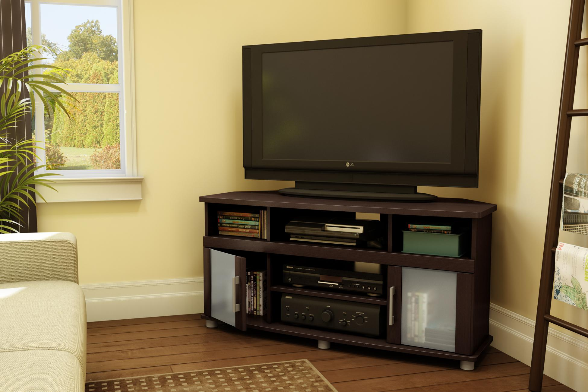 Tv Stand Designs For Corners : Woodwork corner tv stand pdf plans